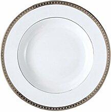 Bernardaud Athena Platinum Rim Suppenschüssel