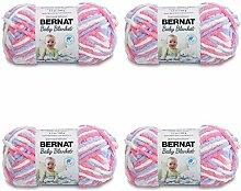BERNAT Babydecke, jede Packung enthält 4 Bälle,