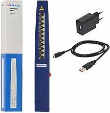 Berner Pocket Slim Plus LED Werkstattlampe mit USB