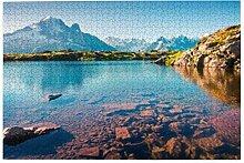 Bernice Winifred Bunte Sommeransicht Lac Blanc