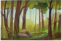 Bernice Winifred Cartoon Wald Hintergrund Natur