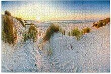 Bernice Winifred Coast Dunes Strand Meer Panorama