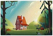 Bernice Winifred Landhaus Wald Farm Landschaft