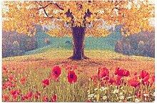 Bernice Winifred Schöne Landschaft Mohnblumen