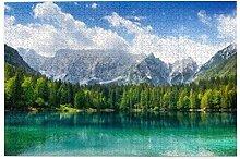 Bernice Winifred Schöne Landschaft Türkis See