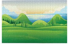Bernice Winifred Schöne Morgenansicht Landschaft