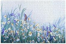 Bernice Winifred Schöne Wildblumen Kamille Lila