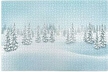 Bernice Winifred Weihnachten Winter Landschaft
