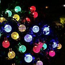 Berocia Wetterfeste LED Lichterkette Warmweiss