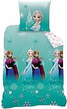 BERONAGE Disney Linon Kinder Bettwäsche Frozen -