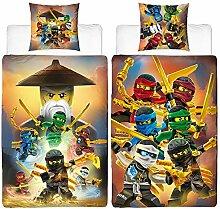 BERONAGE Lego Ninjago Kinder-Bettwäsche Ninja