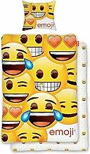 BERONAGE Original Emoji Wende Bettwäsche Smiley