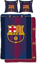 BERONAGE Wende-Bettwäsche FC Barcelona -