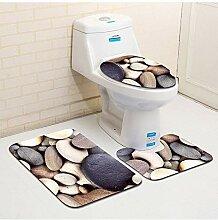 Berrd Mikrofaser toilettenmatte 3 stück Bad Matte