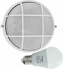 Berste -LED 10W - E27 - Aluminium -Alu