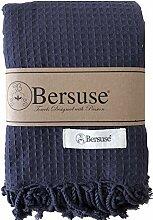 Bersuse 100% Baumwolle - Waffle XXL Überwurf