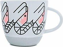 Bert & Boje, so Garnelen Standard Tasse,