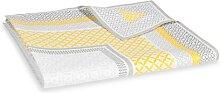 Beschichtete Tischdecke aus Baumwolle, 140 x 250