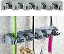 Besen Mop Holder Organizer Garage Haken, oenbopo Wand montiert Garten Werkzeug Aufbewahrung Werkzeug Rack Speicherung und Organisation für die Home Garten Küche 6 Hook