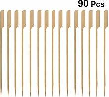 Besonzon 30 x 20 cm Bambus-Bratstäbchen BBQ