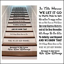 Bespoke Graphics Disney Design, Treppen Riser