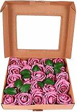 BESPORTBLE 25 Stück künstliche Box Blumen DIY