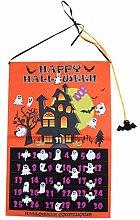 BESPORTBLE Halloween Wandkalender Hängen