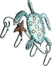 BESPORTBLE Meer Schildkröte Schlüssel Haken
