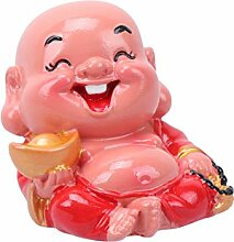 BESPORTBLE Mini Glücklich Buddha Harz Lachend