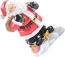 BESPORTBLE Santa Claus Figur Weihnachten Tisch