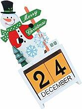 BESPORTBLE Weihnachts Adventskalender Desktop