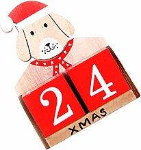 BESPORTBLE Weihnachts Countdown Kalender Kalender