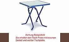 BEST 26527010 Scherenklapptisch Primo eckig 67 x