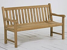 BEST 52315167 Teak-Bank Moretti 150 cm, grau wash