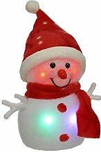 Best-Accessoires4All LED Leuchtfigur Schneemann