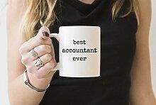 Best Accountant Tasse Geschenkidee Kaffeetasse