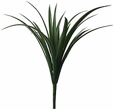 Best Artificial Kunstpflanze 50cm, Gras-Stiel,