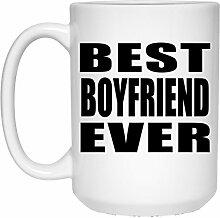 Best Boyfriend Ever - 15 Oz Coffee Mug