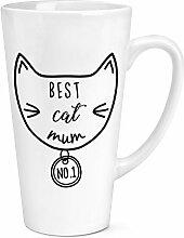 Best Cat Mutter 17oz groß Latte Becher Tasse