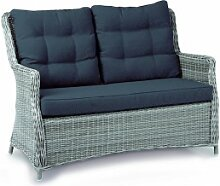 Best Couch Gartensofa Barcelona warm-grey