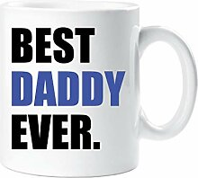 Best Daddy Ever Becher Blau Vatertag Tasse