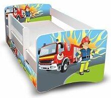 Best For Kids Kinderbett 70x160 mit Rausfallschutz