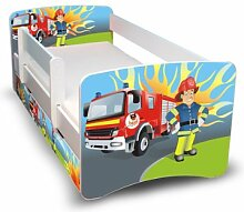 Best For Kids Kinderbett 90x160 mit Rausfallschutz