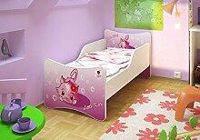 BEST FOR KIDS KINDERBETT OHNE MATRATZE IN 8 GRÖSSEN UND 32 DESIGNS + GRATIS (90x200, Little Kitty)