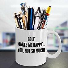 Best Golfer Kaffeetasse, lustiges Geschenk,