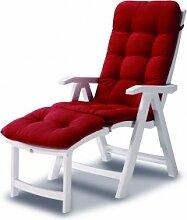 Best Klappsessel / Deck-Chair Florida weiß -