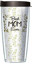 Best Mom Ever Traveler Tumbler Becher mit Deckel,