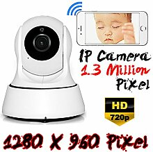 Beste 1.3MP Wifi Wlan 2.4GHz Netzwerk IP Kamera HD