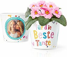 Beste Tante Geschenk - Blumentopf (ø16cm) |