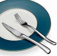 Besteck 2-teilig Luxusbesteck Edelstahl Geschirr